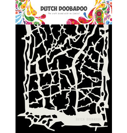 Dutch Doobadoo DDBD Dutch Mask ArtGrunge lines A5