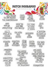 Dutch Doobadoo DDBD Dutch Sticker Art A5 Doodle text