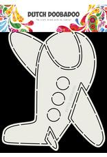 Dutch Doobadoo DDBD Card Art A5 Vliegtuig