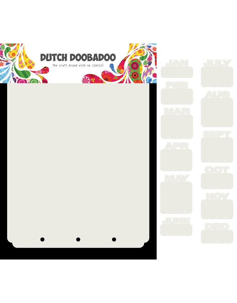 Dutch Doobadoo DDBD Card Art Mini Album Months 13 set