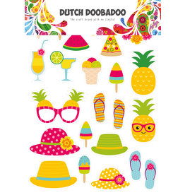 Dutch Doobadoo DDBD Dutch Paper Art A4 Summer elements