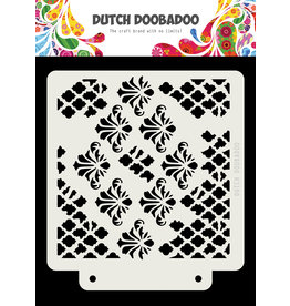 Dutch Doobadoo DDBD Dutch Mask Grunge barroque  163x148