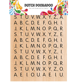 Dutch Doobadoo DDBD Dutch Sticker Art A5 Scrabble