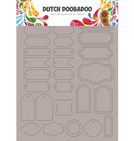 Dutch Doobadoo DDBD Greyboard Art Labels and tags A5