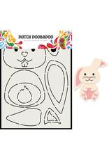 Dutch Doobadoo DDBD Card Art Built up Konijn