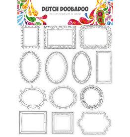 Dutch Doobadoo DDBD Dutch buzz cut art A4 Doodle frames