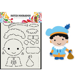 Dutch Doobadoo DDBD Card Art Built up Piet A5