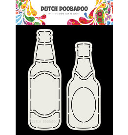 Dutch Doobadoo DDBD Card Art Bierflesjes A5