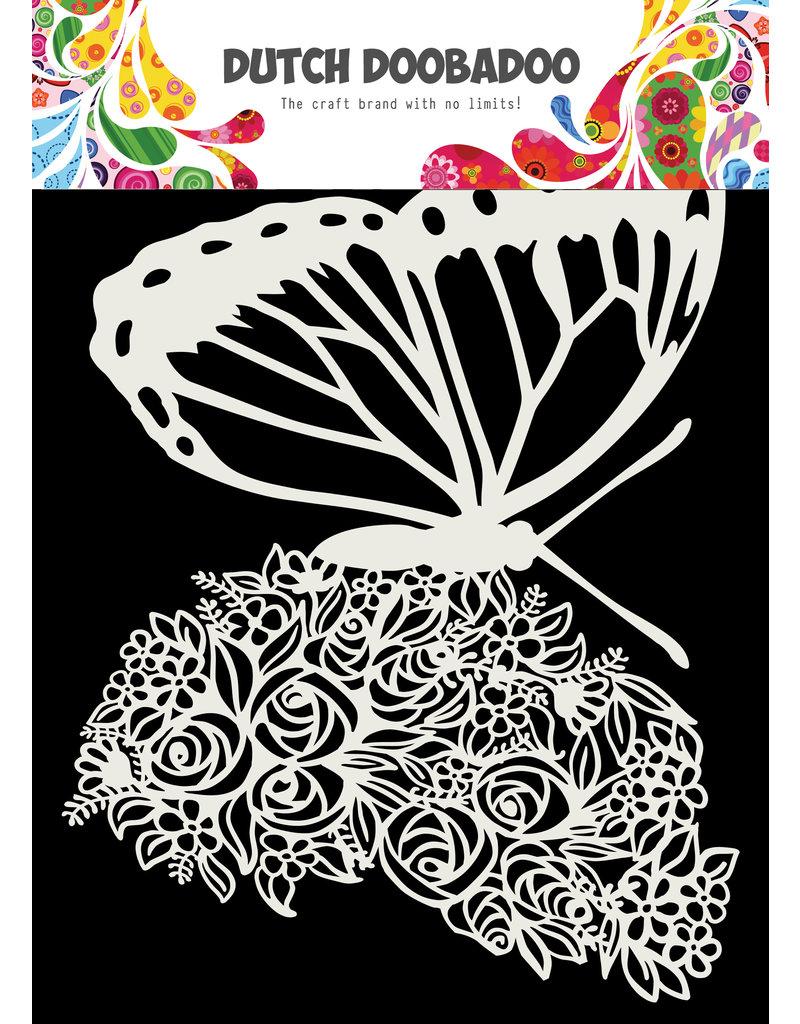 "Dutch Doobadoo DDBD Dutch Mask Art ""Butterfly"" A5"