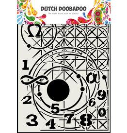 Dutch Doobadoo DDBD Mask Art A4 Meetkunde