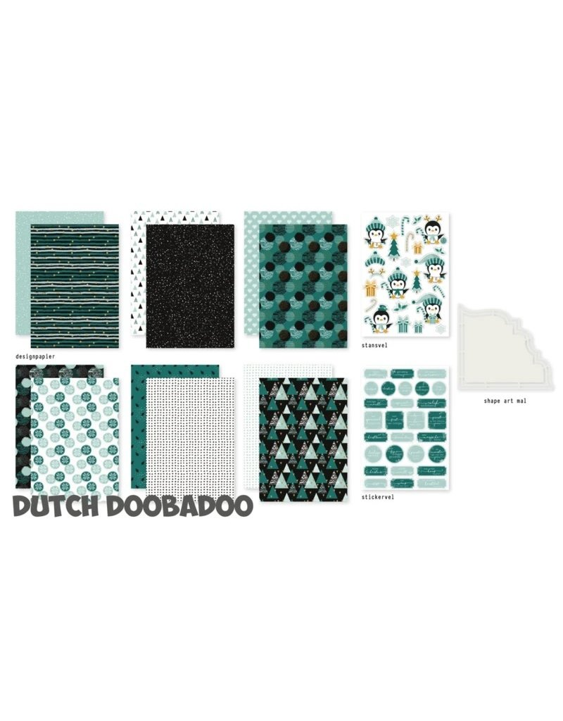 Dutch Doobadoo DDBD Crafty Kit Crismas Mood
