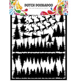 Dutch Doobadoo DDBD Dutch Paper Art A5 Santa