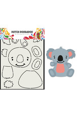 Dutch Doobadoo DDBD Card Art Built up Koala