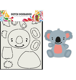 Dutch Doobadoo DDBD Card Art Built up Koala