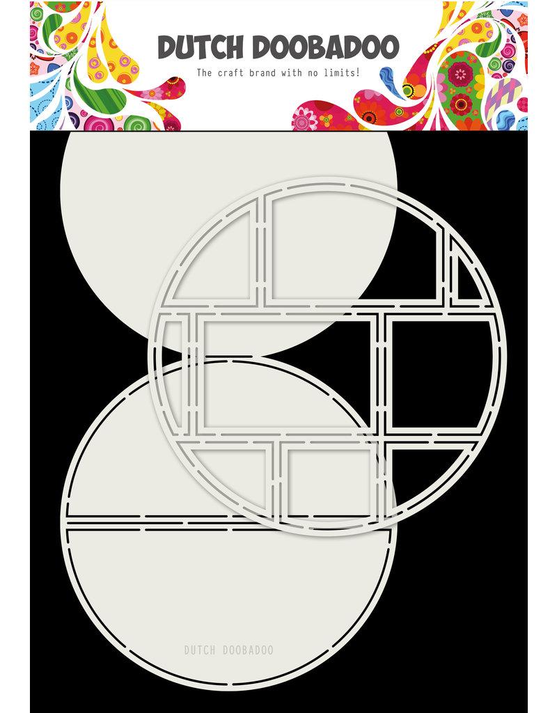 Dutch Doobadoo DDBD Card Art Easel Card Circle 2pc