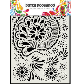 "Dutch Doobadoo DDBD Dutch Mask Art ""Paisley"" A5"