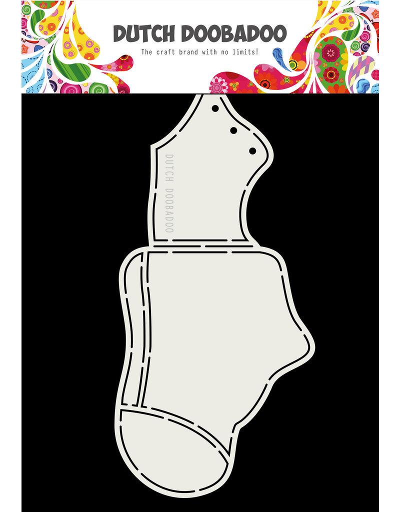 Dutch Doobadoo DDBD Card Art Baby shoe