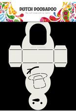 Dutch Doobadoo DDBD Card Art A4 Snowman