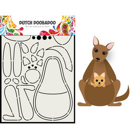 Dutch Doobadoo DDBD Card Art Built up Kangaroo