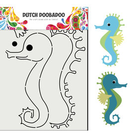 Dutch Doobadoo DDBD Card Art Built up Zeepaard