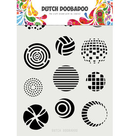 "Dutch Doobadoo DDBD Dutch Mask Art ""Techno"" A5"