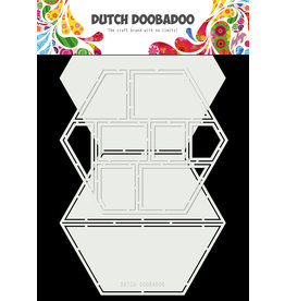 Dutch Doobadoo DDBD Card Art Easel Card hexagon 2pc