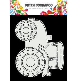 Dutch Doobadoo DDBD Card Art A5 Tractor