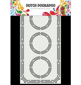 Dutch Doobadoo DDBD Card Art A5 Slimline Ticket