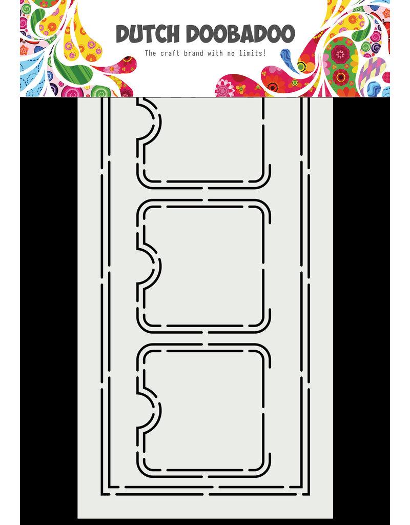Dutch Doobadoo DDBD Card Art A5 Slimline Label