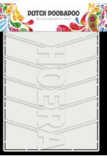 Dutch Doobadoo DDBD Card Art Hoera Album 6pc