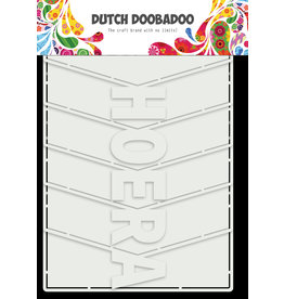 Dutch Doobadoo DDBD Card Art Hoera Album 6pc
