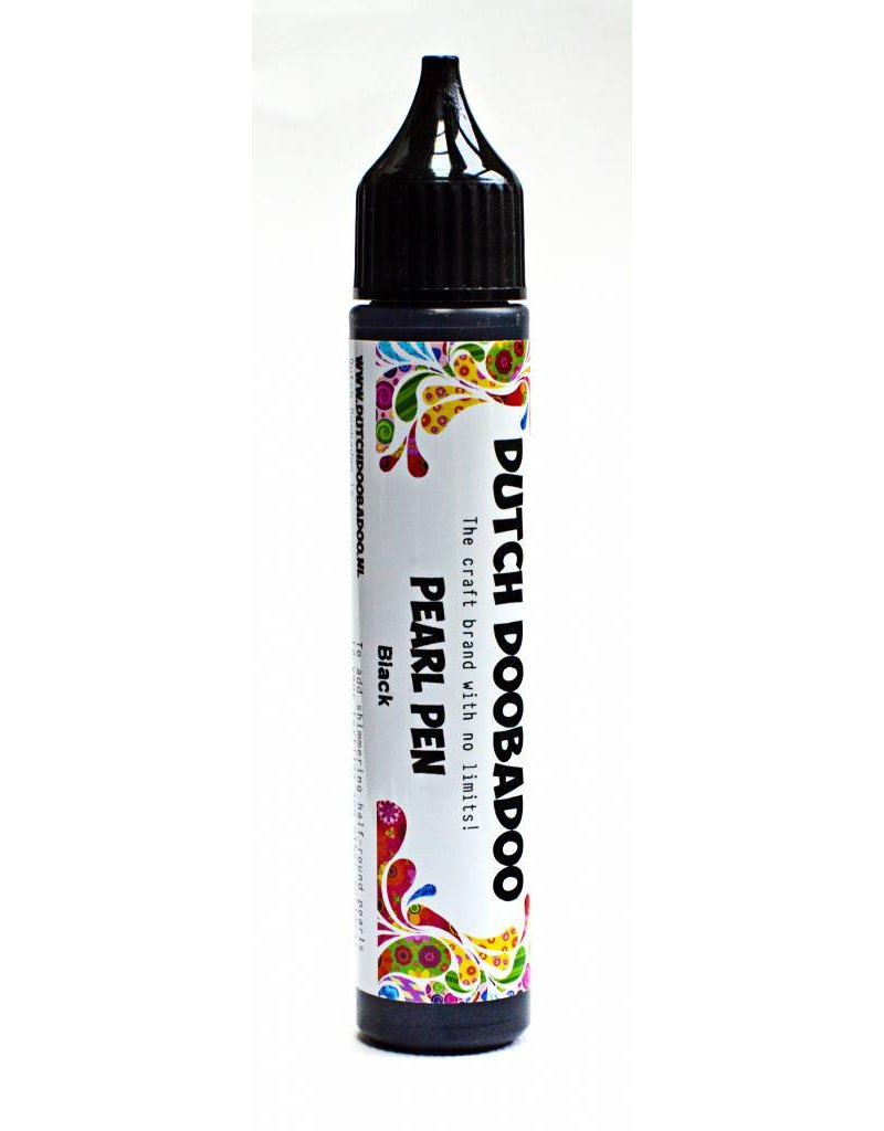 Dutch Doobadoo Dutch Pearl Pen Black 28 ml bl.spraynozzle