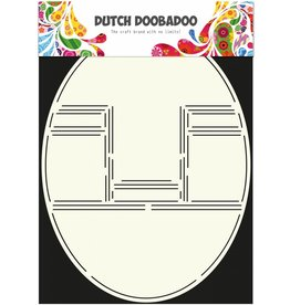 Dutch Doobadoo Dutch Card Art Pop up card oval