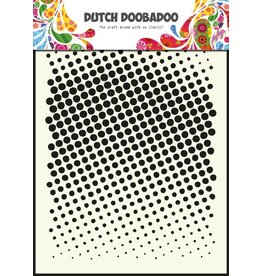 Dutch Doobadoo Dutch Mask Art A5 Faded dots