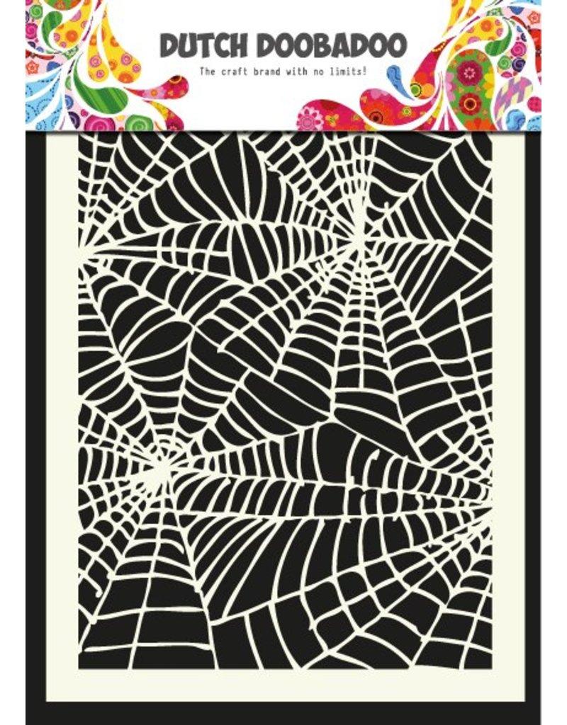 Dutch Doobadoo Dutch Art Mask A5 Spiderweb