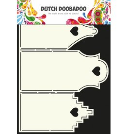 Dutch Doobadoo Dutch Card Art A4 Houses