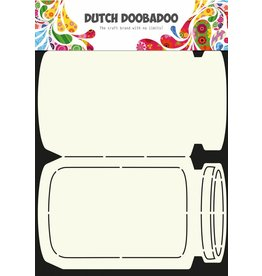 Dutch Doobadoo Dutch Card Art Cookie Jar A4