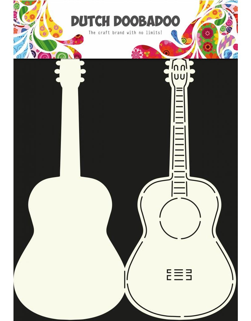 Dutch Doobadoo Dutch Card Art Guitar A4