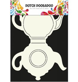 Dutch Doobadoo Dutch Card Art Teapot