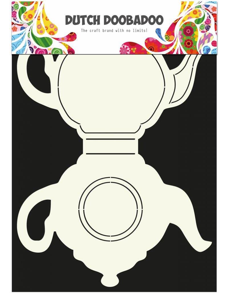 Dutch Doobadoo Dutch Card Art Teapot