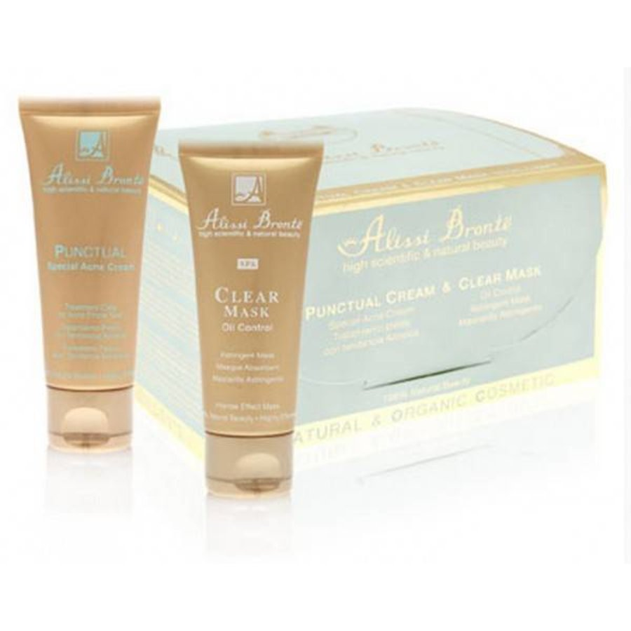 Punctual Cream - Special Spot Cream For Acne 30 ml + Clear Mask 30 ml-1
