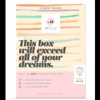 3 Sheet Maskers Gift Box