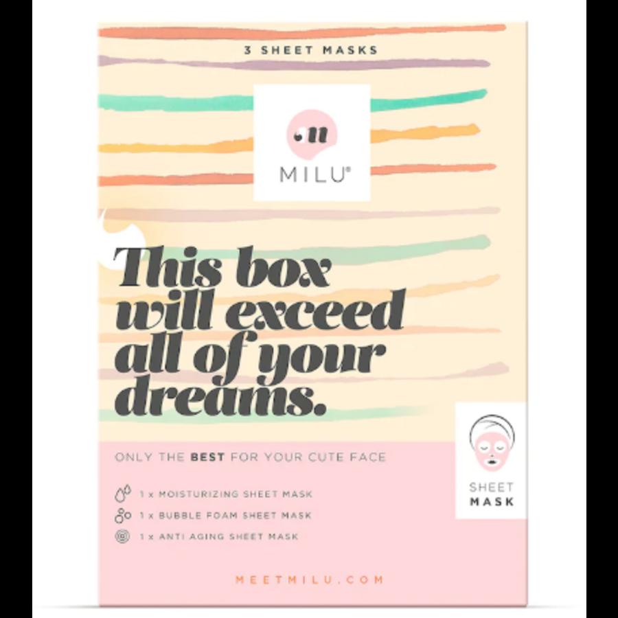 3 Sheet Maskers Gift Box-1