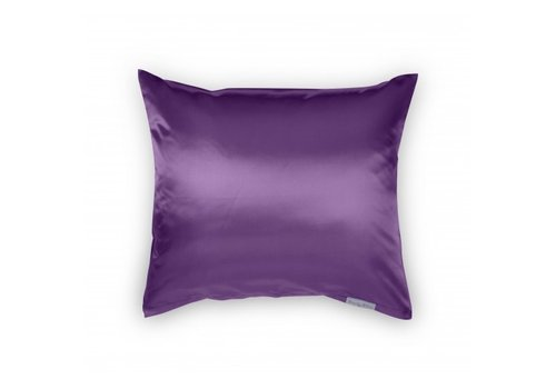 Beauty Pillow Satijnen kussensloop Aubergine 60 x 70