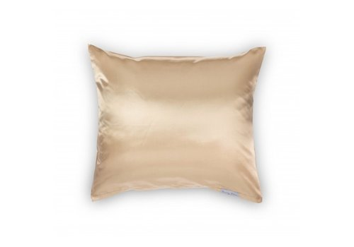 Beauty Pillow Satijnen kussensloop Champagne 60 x 70