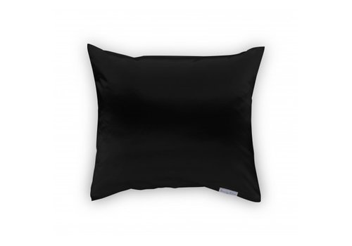 Beauty Pillow Satijnen kussensloop Black 60 x 70