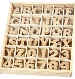 mdf letter klein 4 cm