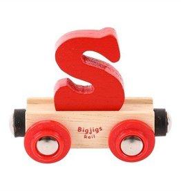 BigJigs lettertrein S