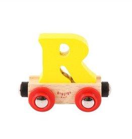 BigJigs lettertrein R