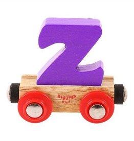BigJigs lettertrein Z